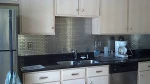 Stainless Steel Backsplash Kitchen Stainless Steel Tile Backsplash Ideas Kitchen Trends