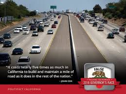 Estimate Asphalt Road Construction Cost Per Mile Does California Spend Nearly 5 Times As Much To Build A