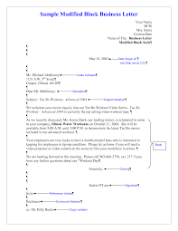 Business Letter Styles Choice Image Letter Examples Ideas