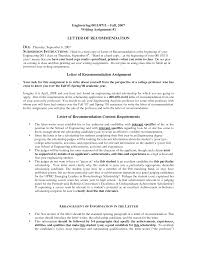 Free Sample Letter Of Recommendation | Crna Cover Letter