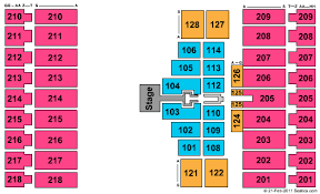Alerus Center Seating Chart Alerus Center Seating Chart