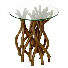 rattan and glass coffee table twisted rattan side table with glass top round wicker coffee table glass top