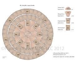 pavers circle kit 4ft layout guide