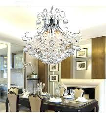 new modern mini pendant crystal chandelier light in chrome hanging kit lighting guaranteed er mounting cake