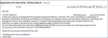 India Summer Internship Cover Letter 8 Internshala Blog
