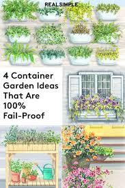 4 container garden ideas that are fail