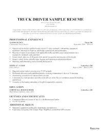 Sample Resume For Delivery Driver Shuttle Driver Resume School Bus