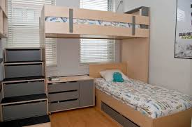 Furniture Striped Walls Childrens Bunk Beds For Small Rooms If You Live In  An Apartment Or Home Pinterest