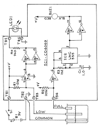 Figure 2 christmas tree dipstick schematic diagram consists of high and low water