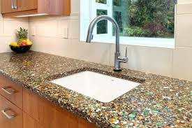 recycled glass countertops recycled glass recycled glass and concrete countertops cost