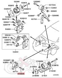similiar evo motor mount diagram keywords oem front motor mount bolt 10mm x 75mm mitsubishi lancer evo viii