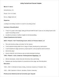 Resume Template For Teacher Delectable 28 Teacher Resume Templates PDF DOC Free Premium Templates