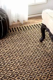 jute rug 8 x 10 luxury mauint25 jute bird s eye rippled edge rug