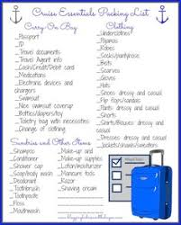Cruise Packing List 83 Best Cruise Packing Lists Images Cruise Vacation Cruise Travel