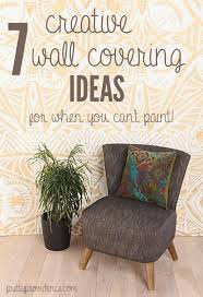 Small Picture temporary wall coverings 7 great ideas for when you cant paint