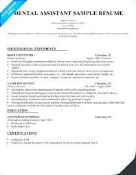 Dental Assistant Objective For Resume Dental Assisting Resumes Dental Hygienist Classic Dental Assisting 54