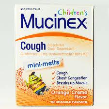 mucinex cough for kids mini melts
