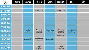 Free Schedule 2019 Schedule Flex Appeal