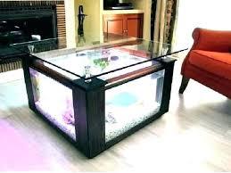 fish tank coffee table fish tank coffee tables coffee table fish tank for coffee table