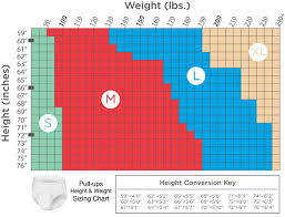 Huggies Pull Ups Size Chart Prevail Underwear For Men