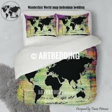 jurassic world duvet cover argos world map duvet covers world map neon grunge print bedding world