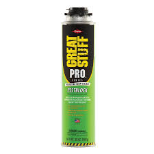 exterior spray foam sealant. dow great stuff pro pestblock 20-oz spray foam insulation exterior sealant e