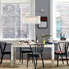 west elm dining room table chairs parsons rectangle