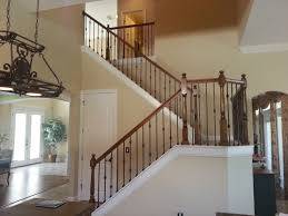 Stairs, Glamorous Wrought Iron Stairs Interior Stair Railings Straight  Black Iron Stairs: amusing outdoor