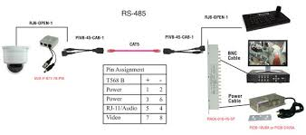 rj11 6p2c plug to open wire cable 1 5ft transmit rs 485 over product diagram