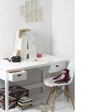 white bedroom desk furniture. White Kids Desk With Two Drawers And Chair Design Chairs Bedroom Furniture M
