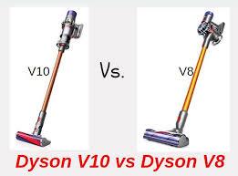 Dyson V6 V7 V8 Comparison Chart Dyson V10 Vs V8 Comparison 2019 Simplified Best Vacuum Guide