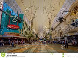 Las Vegas Light Show 2018 Las Vegas Nv Usa June 15 2018 Unidentified People