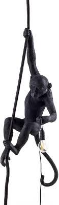Seletti Monkey Lamp Ceiling Black On Checkfrankcouk Frank