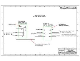 optical beam counting system autocad wiring diagram included our systems