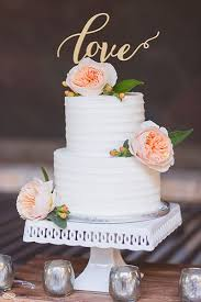 30 Small Wedding Cakes With Big Impact Cake Small Wedding Cakes