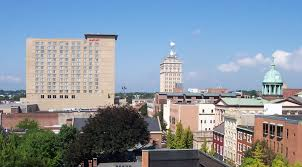 lancaster pennsylvania familypedia fandom powered by wikia downtown lancaster dominated by the new lancaster county convention center and marriott hotel as well as the w w griest building and the lancaster