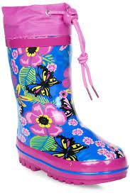 <b>Сапоги</b> резиновые для девочки <b>Flamingo</b>, цвет: розовый, голубой ...