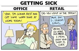 Retail Work Office Job Vs Retail Job Album On Imgur