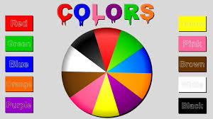 Basic Color Chart For Kids Perspicuous Preschool Color Chart For Kids Charts For