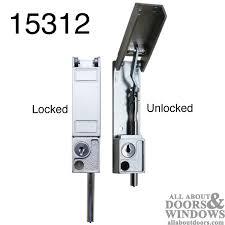 to install a sliding patio door bolt lock