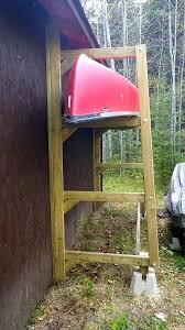 wood kayak storage rack plans free woodworking building a homemade kayak storage rack plans build building an outdoor