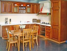 ... Kitchen Cabinets, Terrafic Brown Rectangle Modern Wooden Kitchen  Cabinet Design Photos Stained Ideas: Beautiful Gallery