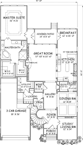 luxury style house plans 4297 square