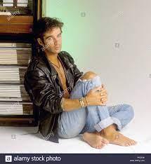 Pierre Cosso am 18.08.1988 in München.   Verwendung weltweit  Stockfotografie - Alamy