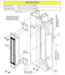 rofu model 8000 magnetic lock for sliding doors 650lbs by rofu for rh maglocks com glass door locks herculite glass door