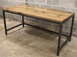 raw steel furniture. desk oil stained oak 15 raw steel furniture l