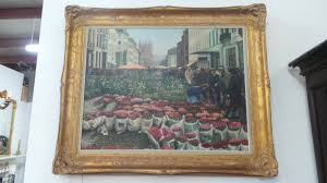 french oil on canvas painting i melbourne i sydney