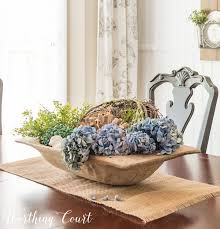 Dough Bowl Decorating Ideas How To Layer And Fill A Large Dough Bowl Worthing Court 10