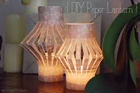 Moroccan lighting, DIY paper lanterns