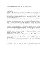 logistics coordinator cover letter sample coordinator cover logistics management students cover letter template cover letter